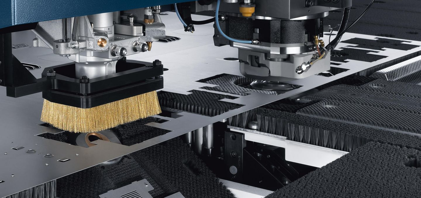 TruMatic 6000, punch and laser processing