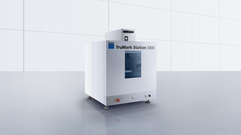 TruMark Station 3000 – simple and user-friendly