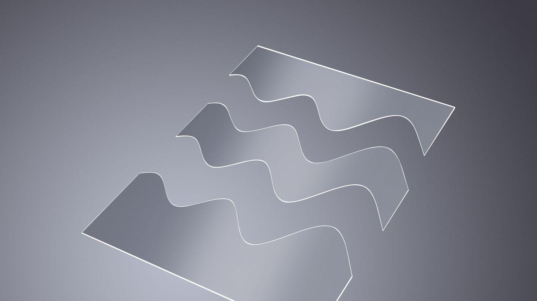 在用激光切割玻璃时,制成灵活的几何形状