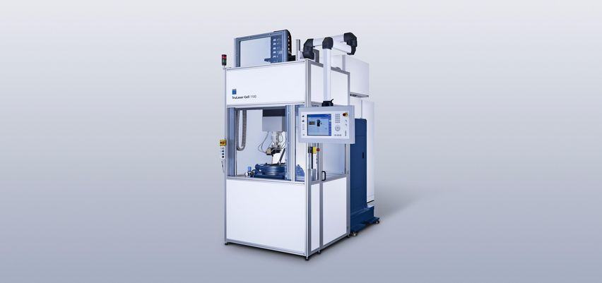 TruLaser Cell 1100 PWT 用于旋转对称部件