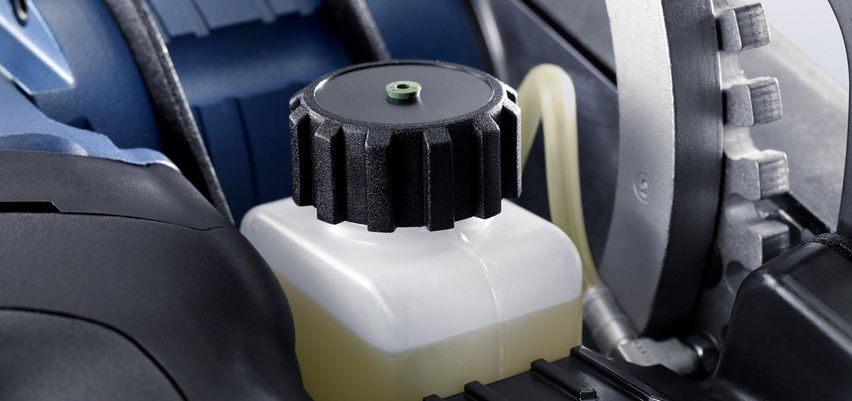 TruTool TPC 165,内置润滑系统